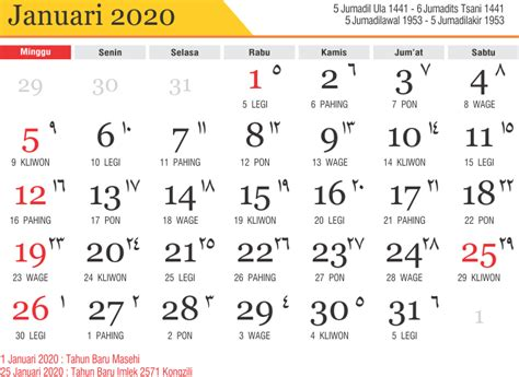 kalender lengkap  png sosialpost