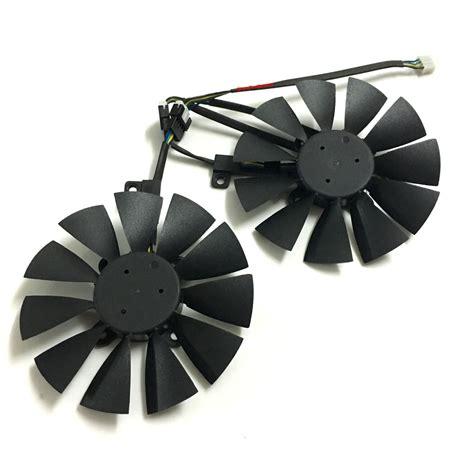 pny 1070 dual fan מוצר 2pcs vga gpu cooler gtx 1070 1060 graphics card fan