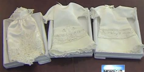 woman turns wedding dresses  angel gowns