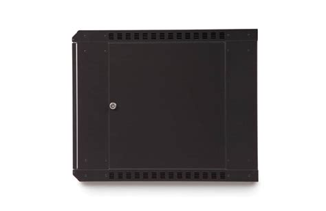 wall mounted cabinet with glass doors 9u linier 174 fixed wall mount cabinet glass door at cables