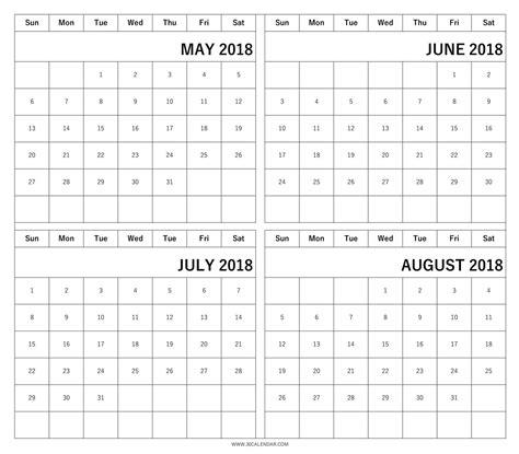 printable calendar june july august 2018 may june july august calendar 2018 rudycoby net