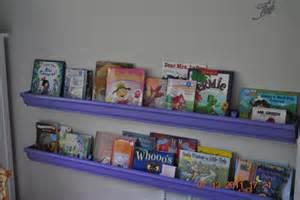 Eavestrough Bookshelves Frugal Frenzy Diy Gutter Bookshelves