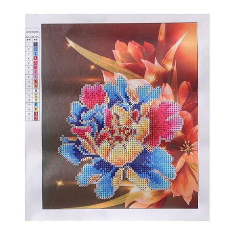 Painting Cross Stitch 7 diy 5d painting embroidery flower cross crafts stitch kit wall decor ebay