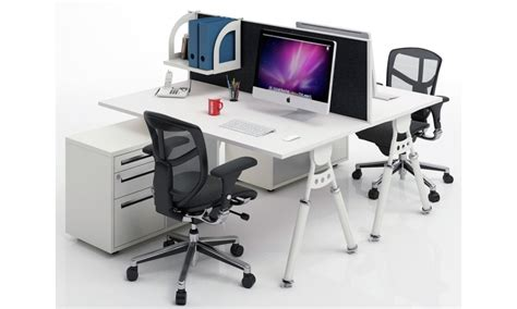 2 sided office desk two sided desk a best solution for limited office space
