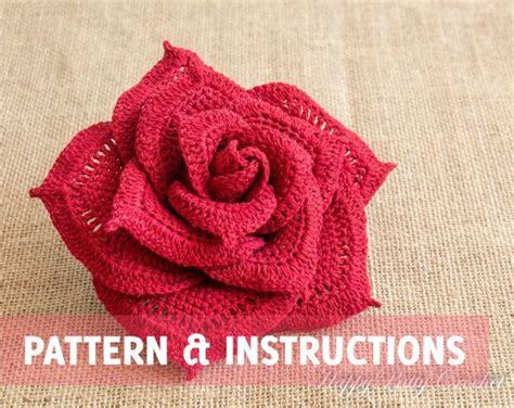 imagenes de flores tejidas a crochet crochet rose pattern crochet flower pattern crochet