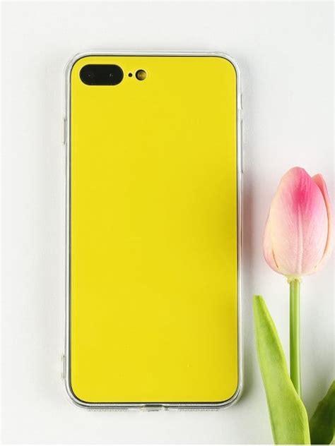 20 2019 diy phone for iphone in yellow zaful
