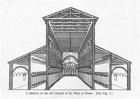 old st peters basilica plan architecture of cathedrals art blog