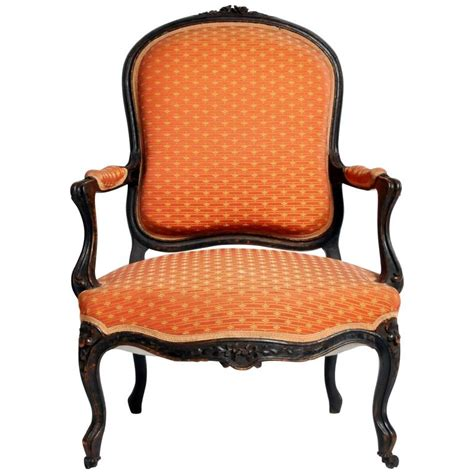 Upholstery Stretcher Louis Xv Style Fauteuil With Cabriole Legs For Sale At 1stdibs