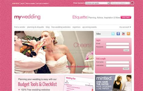 Best Wedding Planning Websites by The Best Websites To Plan Weddings And Events Smashing Wall