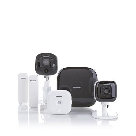 panasonic smart home monitoring and security system with