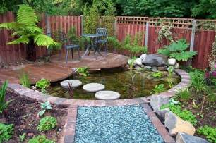 Small Garden Pond Design Ideas Small Garden Pond Ideas Uk Landscaping Gardening Ideas