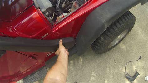 jeep snorkel install jeep tj snorkel install youtube