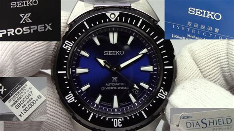 seiko sbdc trans ocean overview automatic diver   movement youtube
