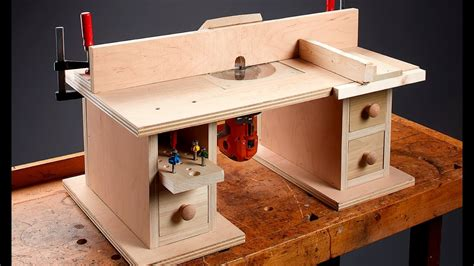 benchtop router table youtube