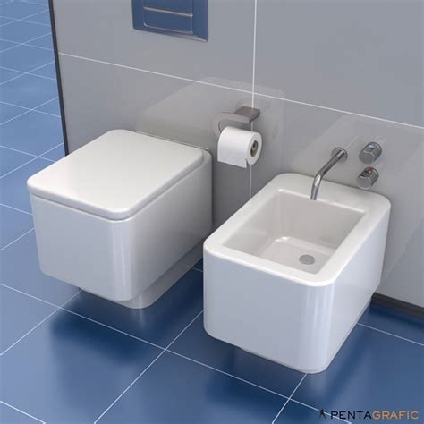 bidet wc set wc bidet set element roca v2 strata