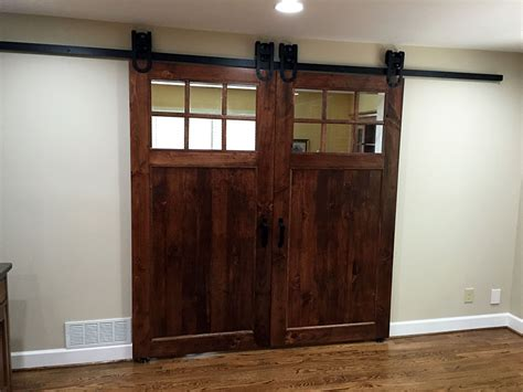 Classic Plank Barn Door Barn Door Window
