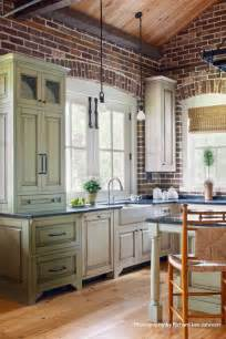 Kitchen Cabinets Charleston Sc White Cabinets White Trim And Light Floor To Go With Brick Pulliam Morris Interiors Design