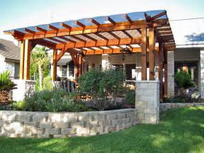 Material For Pergola by Pergola Polycarbonate Roofing