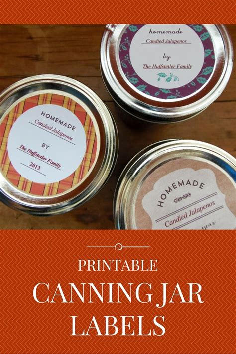 printable jam labels printable canning jar labels canning jars them and