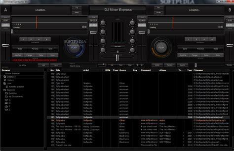 dj software free download full version windows xp dj mixer express for windows