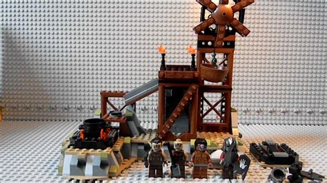 lego lord of the rings lotr 9476 orc forge review