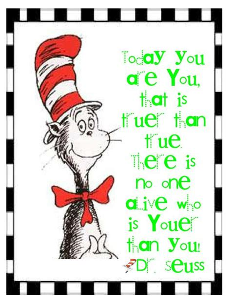 printable quotes by dr seuss dr seuss encouraging quotes in black and white quotesgram