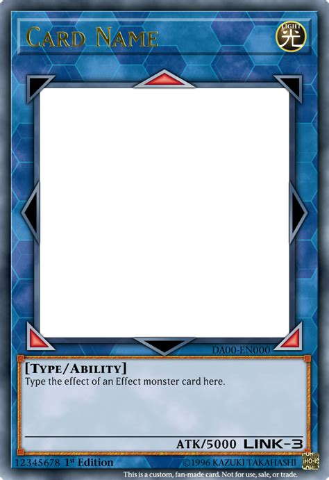 magic card template psd tcg fakes neko s creations cards screencaps and