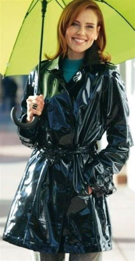 lip service spiked vinyl trench black pvc raincoat cosas para ponerse