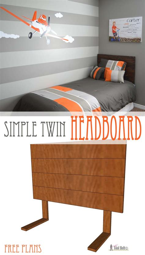 diy headboards for boys simple headboard and dusty theme room tool belt