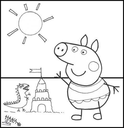 peppa pig printable coloring pages coloring home free peppa pig coloring pages coloring home