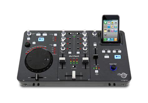 console dj tech console de mixage usb i zero mixage ipod de dj tech