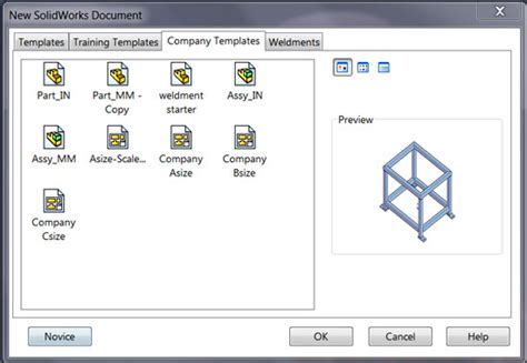Solidworks Templates by Customize Solidworks For Efficiency Cadalyst