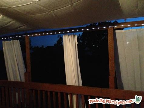 Diy Porch Awning by Diy Deck Awning Made By Marzipan