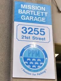 Mission Bartlett Garage by San Francisco Parking Garages Options In Each District