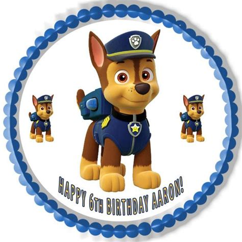 Paw Patrol Cake Decorations by Paw Patrol 1 Edible Birthday Cake Or Cupcake Topper
