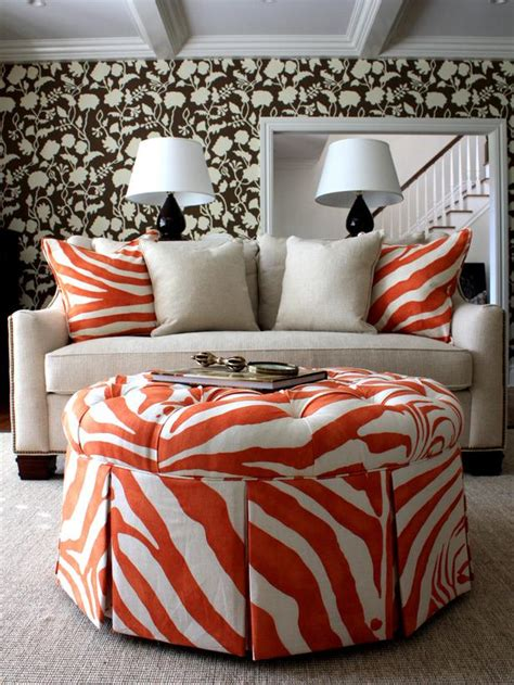 orange and brown home decor tangerine tango decorate with pantone s 2012 color of the