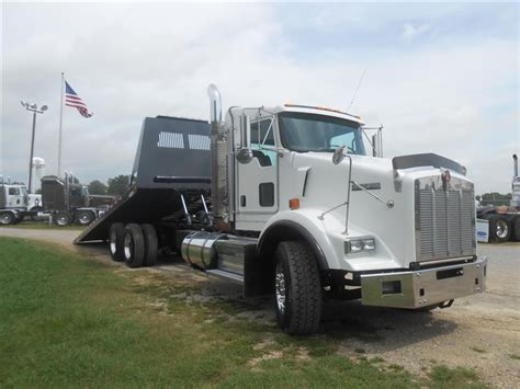 used 2008 kenworth t800 rollback truck for sale in ms 6652