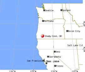 cove oregon map shady cove oregon or 97539 profile population maps