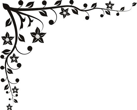 Decorative Corner by Decorative Corner Floral Wall Decal Wall Transfers