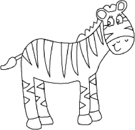 Zebra Outline Coloring Page by Zebra Coloring Sheets Coloring
