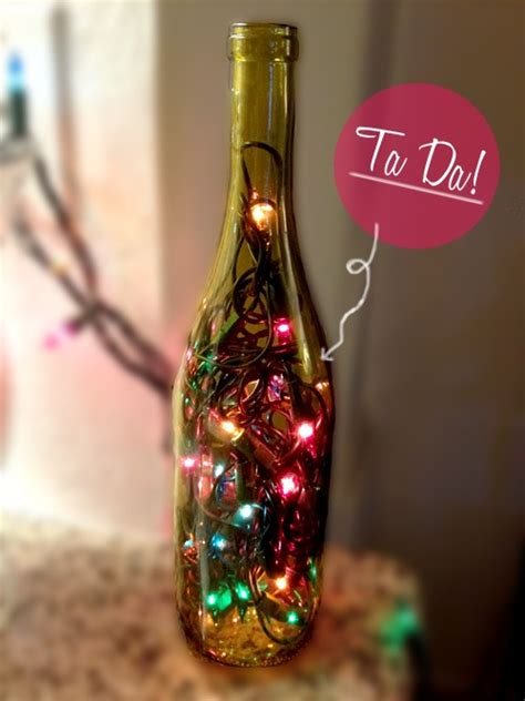 wine bottle christmas lights 44 diy wine bottles crafts and ideas on how to cut glass