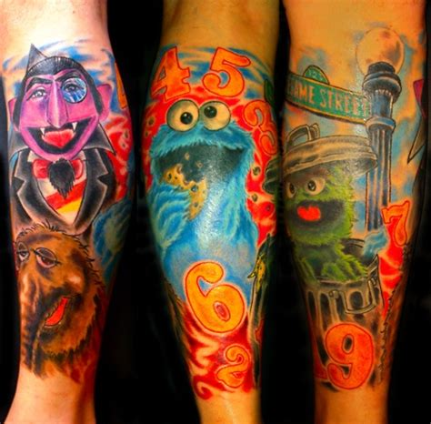 muppet tattoo awesome muppet tattoos