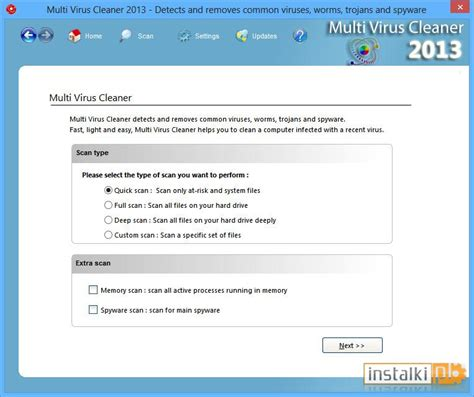 anty wirusy windows multi virus cleaner 2013 13 1 0 download instalki pl