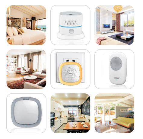 heiman new zigbee smart home system for home automation