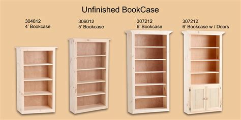 small solid wood bookcase unfinished bookcase headboard 100 unfinished wood bookcase