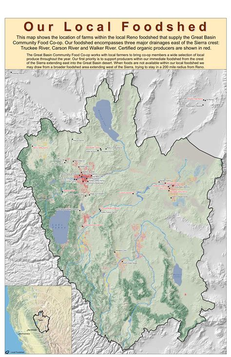 great basin on a map great basin map images