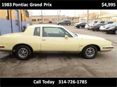 all car manuals free 1983 pontiac grand prix navigation system 1983 pontiac grand prix used cars st louis mo youtube