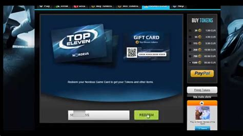 Nordeus Gift Card - how to play top eleven be a football manager youtube