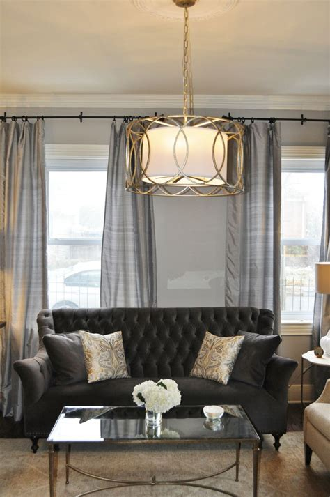 charcoal gray vvlvet sofa contemporary living room elle decor 167 best images about design projects by jws interiors llc