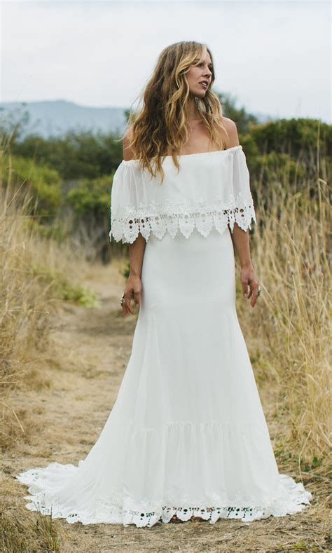 Brautkleider Bohemian by Bohemian Wedding Dress Phiffer By Daughters Of